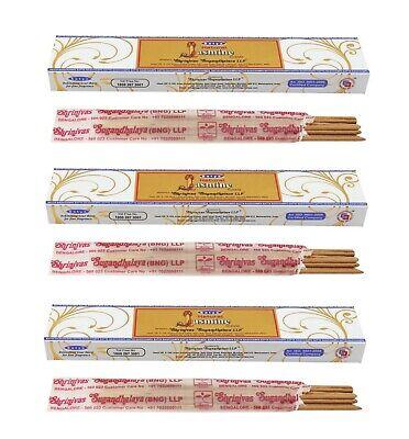 3 or 12 Pack Box Satya Genuine Nag Champa Natural Incense Sticks Joss - Fresh 3