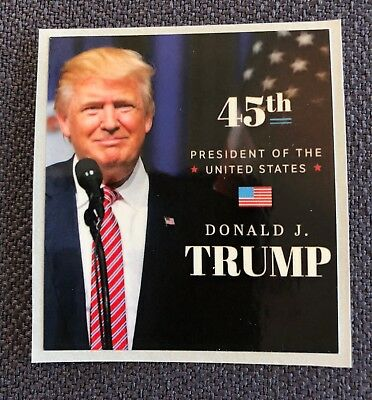 """President Donald Trump 8 1/2"""" x 11 on Card Stock..Prayer, Photo, Picture + Decal 3"""