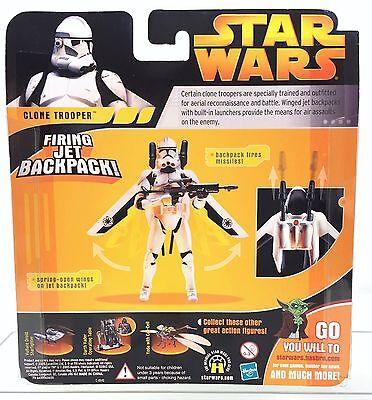 Rots Hasbro Star 2005 W Clone Jet Figure Wars Firing Action Trooper 8OXn0Pkw
