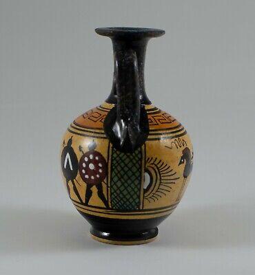 Ancient Greek Ceramic Vase of the Geometric Period - Handmade in Greece 5
