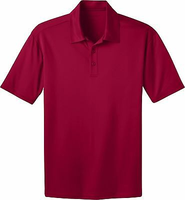 Port Authority Mens Big And Tall Pique Polo Shirt/_Navy/_XX-Large Tall
