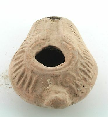 ARC P22 Ancient Middle Period Samaritan Oil Lamp c400AD Holyland S.3 Trench Type 4