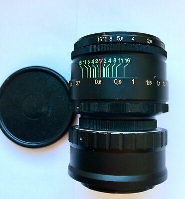 Perfect HELIOS 44-2 Lens Micro M 4/3 MFT Mount Olympus Lumix 2 cap 3