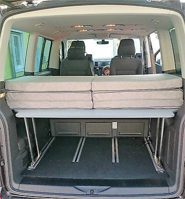vw t5 t6 multiflexboard konsolen auflage matratze. Black Bedroom Furniture Sets. Home Design Ideas