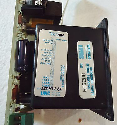 Chemcut #75448 Rev. 1  Pcb With Imc Display Model#517100K. 3