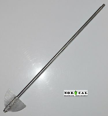 Jaybird Stainless Steel EXTREME Boil Kettle Homebrew Beer Brewing Stir Paddle