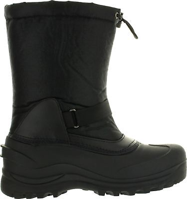L&M Men's Black Winter Snow Boots Shoes Warm Thermolite Waterproof 2008 3