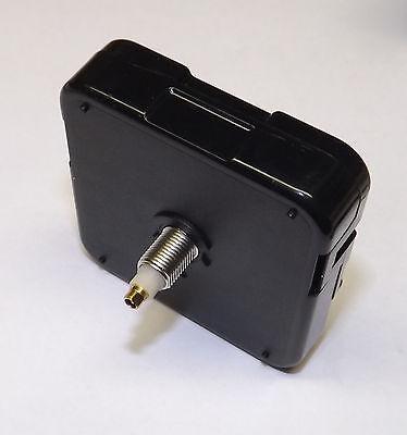 """Quartex Quartz Battery QUIET Sweep Clock Movement NO TICK 1/4"""" Thick Dial SPADE 2"""
