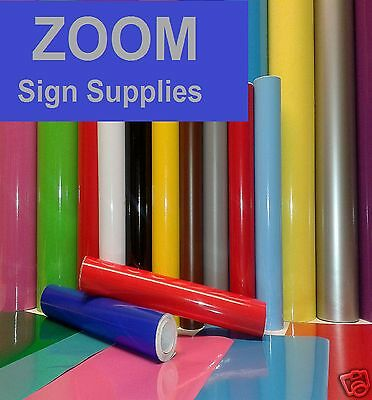 Buy 1 Get 1 Free 1mtr, 5mtr or A4 Self Adhesive Sticky Back Plastic Sign Vinyl 10