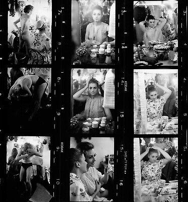 Moulin Rouge 1960, 3 planches contact  argentiques 22x20cm #005 2