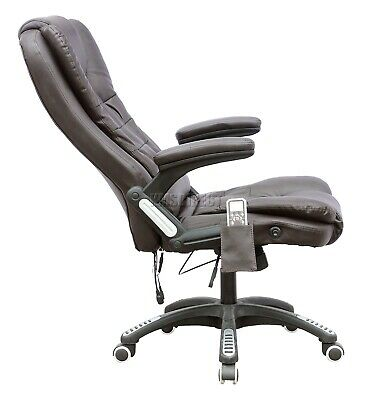 WestWood Heated Massage Office Chair – Leather Gaming Recliner Swivel Computer 6