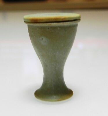 Zurqieh -As9985- Ancient Egypt. Faience Cosmetic Cup . Late Period. 600 -300 B.c 3