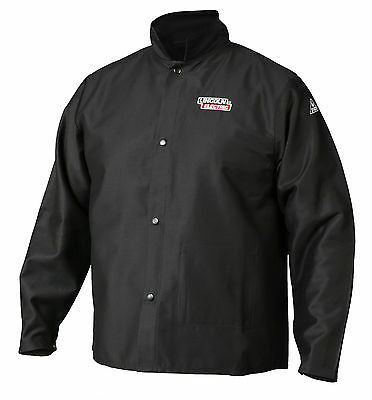 Lincoln K2985 Traditional FR Cloth Welders Welding Jacket Size Medium
