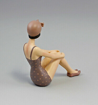 9973174 Resin-Figur Hermosa Bañista Sentada Pin-Up Girl 3