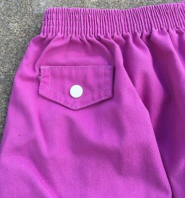 Vintage Kim Stacy Skirt Made In USA 70s 80s Girls 7 Elastic Waist 4