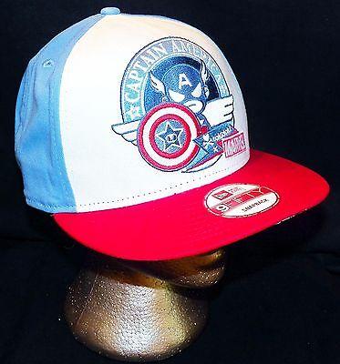 online store 1ee41 c6f45 ... Tokidoki Marvel Comics Captain America New Era 9FIFTY Disney Store  Baseball Hat 2