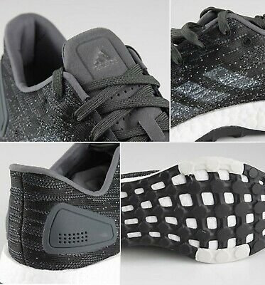 repentinamente espectro capitalismo  ADIDAS MEN PURE-BOOST DPR Shoes Running Dark-Gray Sneakers Casual Shoe  B37787 - $149.90 | PicClick
