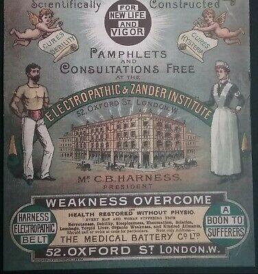 Victorian Electropathic Belts Leaflet ******(See Description For Details)****** 6