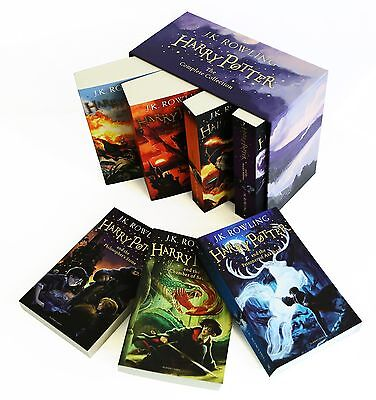 The Complete Harry Potter 7 Books Collection Boxed Gift Set NEW J. K. Rowling 4