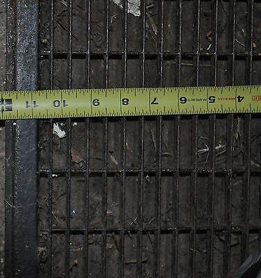 Vintage Floor / Wall Heat Register Metal Vent  Antique Grate 7