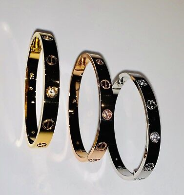 Unisex Love Bracelet - Gold Plated Excellent Quality 6