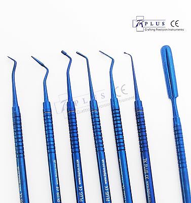 Dental Restorative Composite placement and contouring filling instruments Set CE