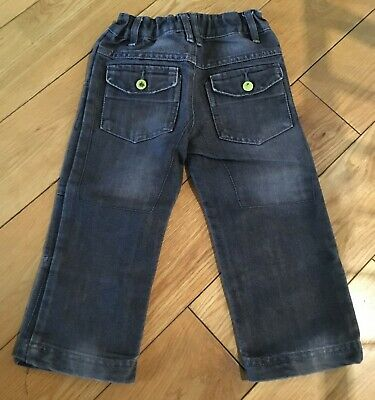 Boys Grey Jeans Size 2-3 Years 2