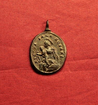 Late Medieval Religious Holy Medal - 17-18. Century 2