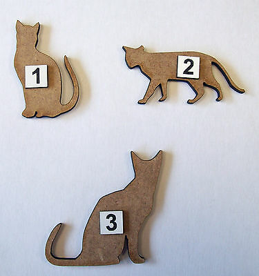 MDF Wooden 25mm Farm Animals laser cut out shapes decoration embellish craft