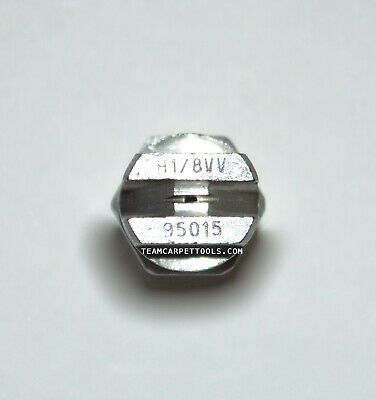 Tapis Nettoyage Pièce de Rechange Acier Inoxydable 0.3cm V-Jets 95015 Vé Jets (4 3