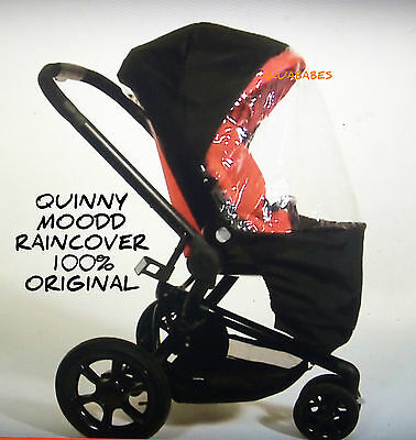 NEW QUINNY Raincover Quinny Moodd GENUINE 100% ORIGINAL RAINCOVER 2