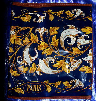 Anne McAlpin Paris Eiffel Tower Scarf Shawl Great Cities Collection  Silk NEW