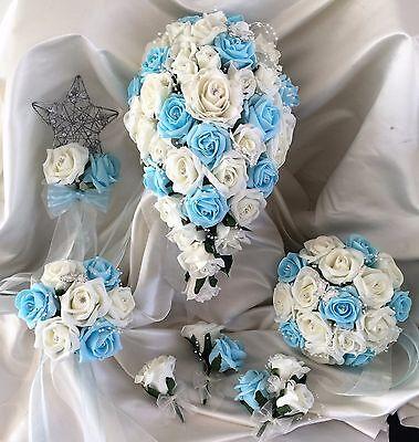 Fiori Matrimonio Mazzo di fiori, Perle & Strass Spose/Damigella/Asole 5