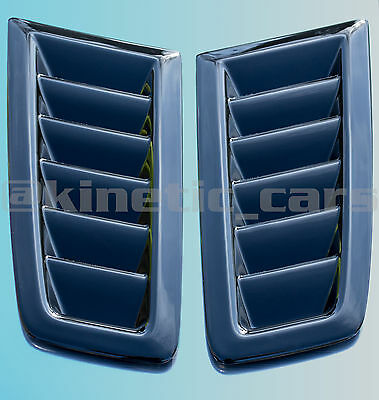 Focus RS MK2 style ABS plastic bonnet vents *FORD PROFILE* universal Exact OE 2
