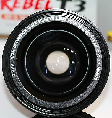 58MM HD WIDE ANGLE LENS + MACRO LENS FOR Canon EF-S 55-250mm f/4-5.6 IS STM 3