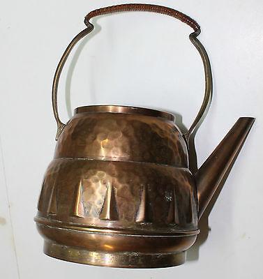 kettle spirit copper art nouveau signed teapot samovar jugendstil arts and craft 3