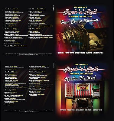 Rock n Roll 10 CDs 250 Hits The Ultimate Jukebox Collection Of 50s 60s Music New 9