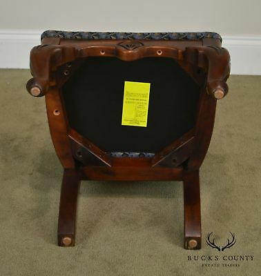 American Drew Bicentennial Edition Tree of Promis Caned Back Slipper Chair 12