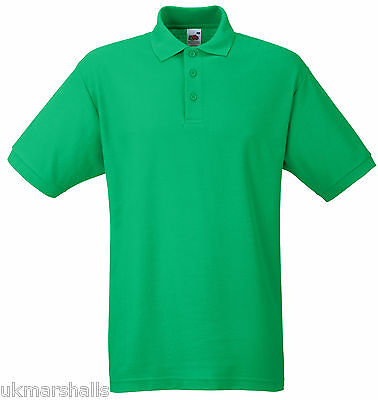 Bulk Buyer Fruit Of The Loom Polo T Shirt 14 Colours All Sizes Bn 6