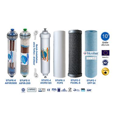 Ultimate PLUS PRO Umkehr Osmose Wasserfilter 600 GPD direct flow Mod. gen 2018