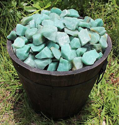 500 Carat Bulk Lot Natural Rough Green Aventurine, Raw Gemstone (100 Grams) 3