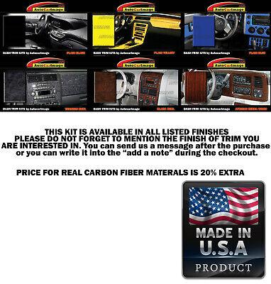 Dash Trim Kit for FORD EXCURSION 00 01 02 03 04 05 carbon fiber wood aluminum