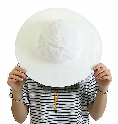 Beekeeping White cotton bee hat and Veils TOGGLE 4
