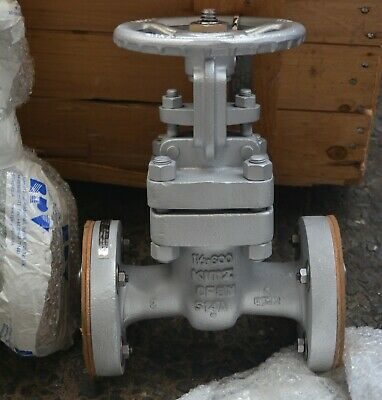 "KITZ UMAMY 1 1/2"" IN  SS CF8M flanged gate valve DN40 Cl 600 4"