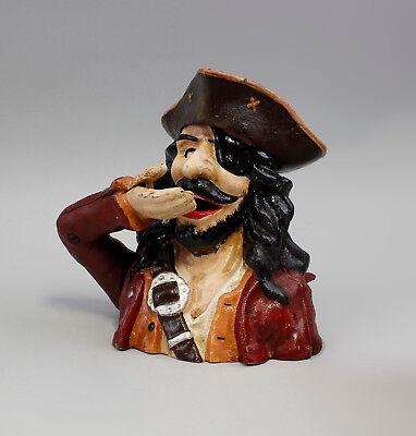 9973059 Cast Iron Figure Money Box Mechanical Pirate 18x15x19cm 2