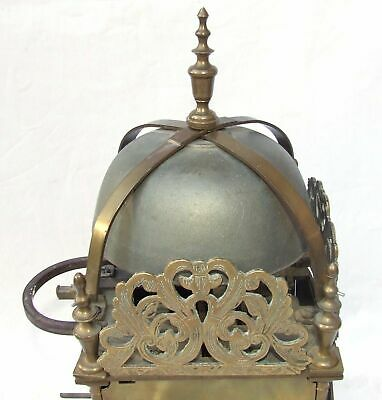 Hook and Spike Lantern Clock in Manner of Antique 16th / 17th Lantern Clock 9