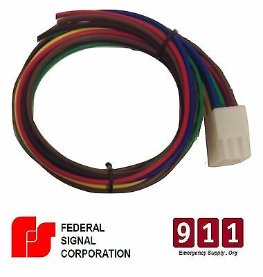 federal signal replacement siren power harness plug cable 12 pin 1 rh picclick com