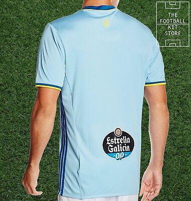 CELTA VIGO HOME Shirt Genuine adidas Football Jersey Mens All Sizes