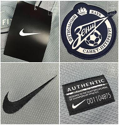 Zenit St Petersburg Goalkeeper Shirt - Official Nike Football Shirt - All Sizes