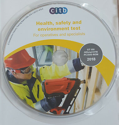 CITB New DVD CSCS Card Test for Operatives & Specialists  2018 Multi-Language 2